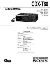 Buy Sony CDX-T60RF Technical Information by download Mauritron #235491
