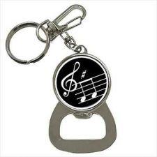 Buy Music Notes Treble Clef Keychain Bottle Opener
