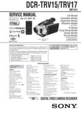 Buy Sony DCR-TRV60 Service Manual by download Mauritron #239852
