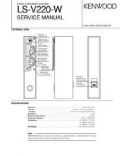 Buy KENWOOD LS-V220-W Technical Information by download #118795