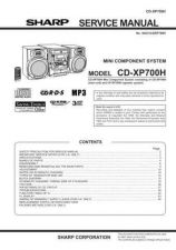 Buy Sharp CDXP700H Service Manual by download Mauritron #208712