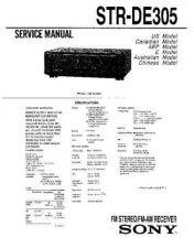 Buy Sony STR-DE515 Service Manual. by download Mauritron #245096