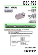 Buy Sony DSC-S30S50 Technical Information by download Mauritron #235586
