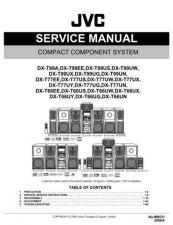 Buy JVC DX-T66UN Service Manual by download Mauritron #270323