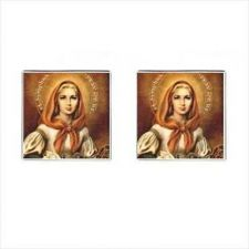 Buy St Dymphna Patron Saint Of Mental Illness New Cufflinks