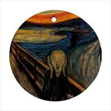 Buy The Scream Edvard Munch Art Ceramic Ornament