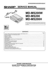 Buy Sharp MDMS200-W-H Service Manual by download Mauritron #210005