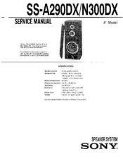 Buy Sony SS-MF400H Service Manual. by download Mauritron #244875