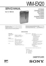 Buy SONY WM-FX271 Technical Info by download #105337