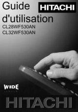 Buy Hitachi CL32WF530AN FR Manual by download Mauritron #224412