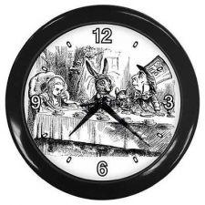 Buy Mad Hatter Tea Party Alice In Wonderland Wall Clock