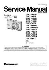Buy Panasonic DMC-FX8GK Service Manual with Schematics by download Mauritron #266748