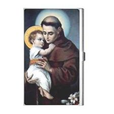 Buy St Anthony Patron Saint Of The Lost Business Credit Card Holder