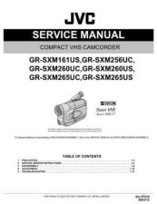 Buy JVC GR-SXM265US SERVICE MANUAL by download Mauritron #220152