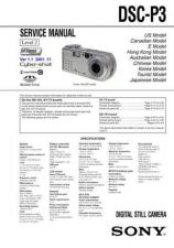 Buy Sony DSC-P32_Level2 (1) Service Manual by download Mauritron #240241