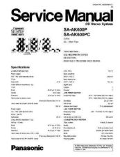 Buy Panasonic saht75 Service Manual by download Mauritron #268703