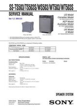 Buy Sony SS-SRF1SRF1A Service Manual. by download Mauritron #244919