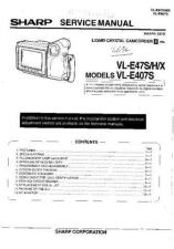 Buy Sharp VLE610U 13 Service Manual by download Mauritron #210802