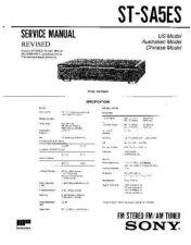 Buy Sony STR-DA1000ES-DB790 Service Manual by download Mauritron #233278