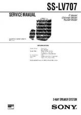 Buy Sony SS-L80H Service Manual. by download Mauritron #244848