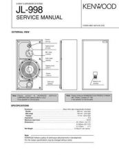 Buy KENWOOD JL-998 Technical Information by download #118613