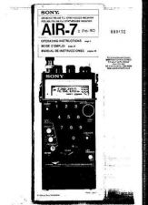 Buy SONY AIR7, PRO80 OPERATING (9432) Technical Info by download #104653