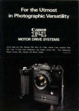 Buy CANON F1MOTORDRIVES FD CAMERA INSTRUCTIONS by download #118440