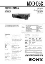 Buy Sony MXD-D5C Service Manual. by download Mauritron #243044