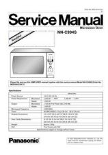 Buy Panasonic mtnc020977s1 Service Manual by download Mauritron #268005