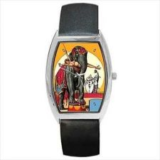 Buy Circus Elephant Vintage Style Art Unisex Wrist Watch