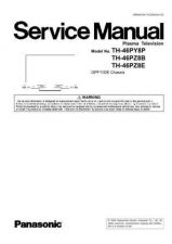 Buy Panasonic TH-42PW5 Service Manual by download Mauritron #269223