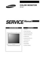 Buy Samsung TP17LT Service Manual by download Mauritron #230775