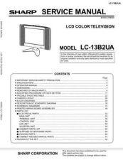 Buy Sharp LC13B4E-15B4E (1) Service Manual by download Mauritron #209806