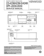 Buy KENWOOD DPF-J3030 J5030 Technical Information by download #118580