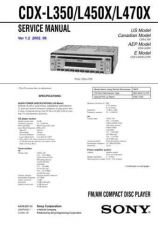 Buy Sony CDX-L550XL570X Technical Information by download Mauritron #235485