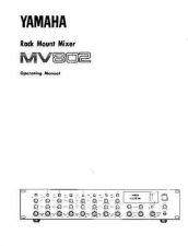 Buy Yamaha MV802E Operating Guide by download Mauritron #248887