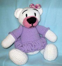Buy Teddy Bear Girl - Crochet Teddy Bear - PDF Pattern