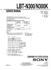 Buy Sony LBT-N300-N300K Service Manual by download Mauritron #241782
