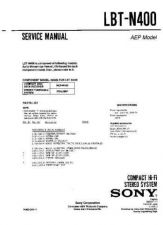 Buy Sony LBT-N400 Service Manual by download Mauritron #232160