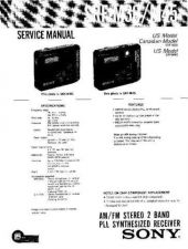Buy Sony ERF-M30-M45 Service Manual by download Mauritron #231973