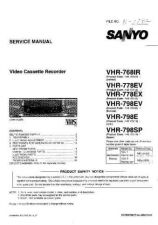 Buy Fisher. VHR-798E Service Manual by download Mauritron #218869