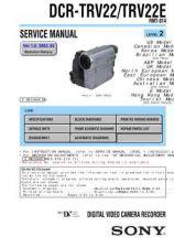 Buy Sony DCR-TRV60_TRV60E_TRV70 adj Service Manual by download Mauritron #239854