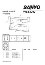 Buy Fisher. TV STAND-WST3202_SM Service Manual by download Mauritron #218705
