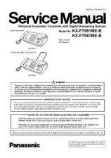 Buy Panasonic KX-TC1001W Service Manual by download Mauritron #267341