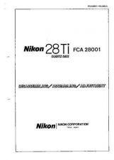 Buy NIKON 28Ti Disassembling-Assembling-Adjustment by download Mauritron #265816