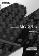 Buy Yamaha MG12 4FXF Operating Guide by download Mauritron #248705