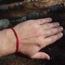Buy Israel Kabbalah Red String against Evil Eye Rachel Tomb