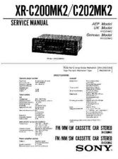 Buy Sony XR-C102 Service Manual. by download Mauritron #246163