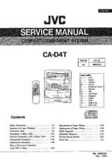 Buy JVC jvc-ca-d4t--- Service Manual by download Mauritron #273479