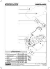 Buy Scalextrix No.419D Ferrari F430 Service Sheets by download Mauritron #206585
